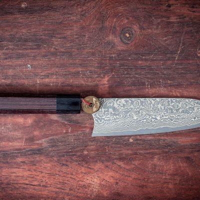 Masakage Kumo Santoku - Artisan Knives