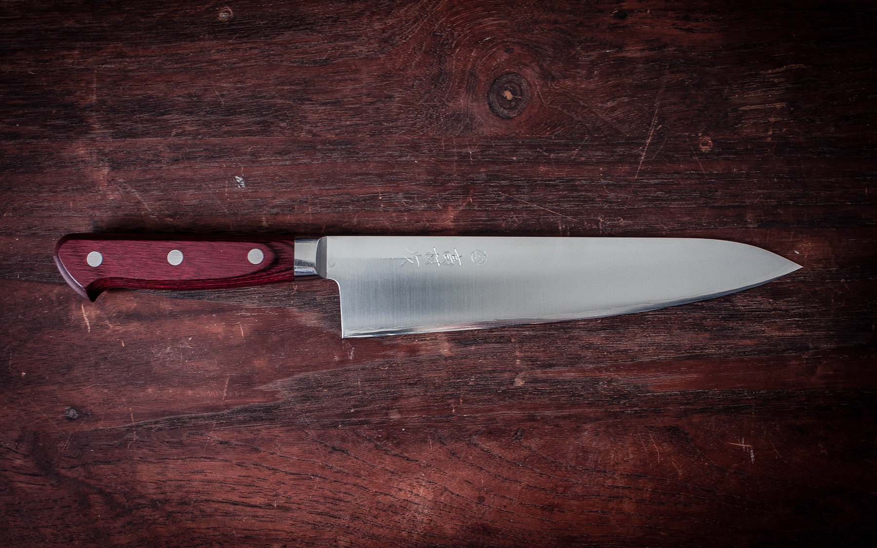 Takamura Gyuto 210 mm - Artisan Knives