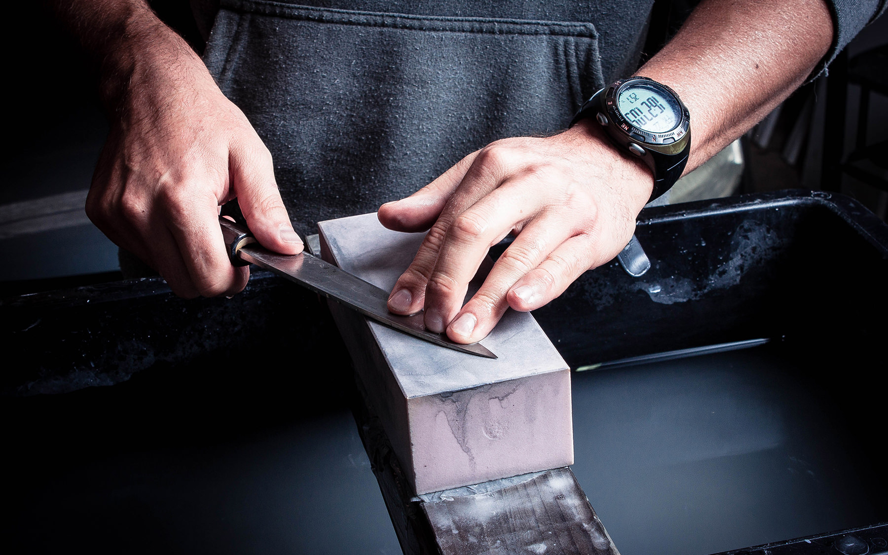 knife thinning - Artisan Knives