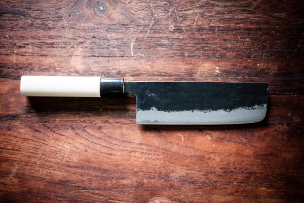Murata Buho Nakiri - Vegetable knife - Artisan Knives